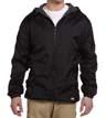 33237 - Fleece-Lined Hooded Nylon Jacket