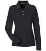 D110Wa - Ladies Pima 100% Cotton L/S Polo