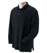 D110a - 100% Pima Pique Cotton L/S Polo