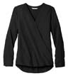 LW702 - Ladies' L/S Wrap Blouse